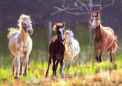 Pastel - Running Free by Melissa Herrin