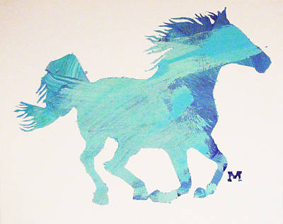 Painting - Running Free by Candace Shrope