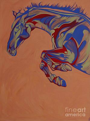 Running Horse  Original by Yaani Art
