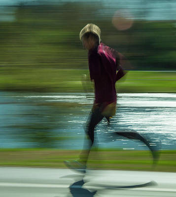 Photograph - Running In Forest Park by Garry McMichael