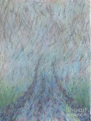 Running Into Fog Art Print by Andy  Mercer