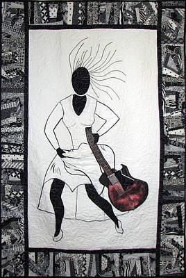 Tapestry - Textile - Running Late by Aisha Lumumba