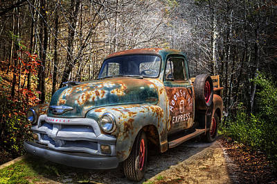 Photograph - Running Moonshine by Debra and Dave Vanderlaan