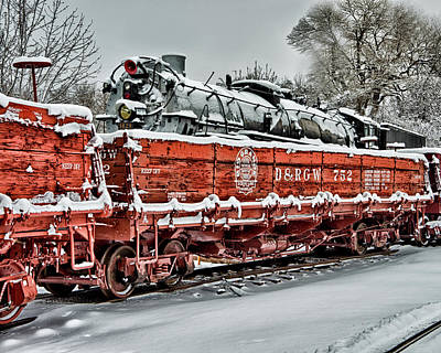 Art Print featuring the photograph Running Out Of Steam by Jeffrey Jensen