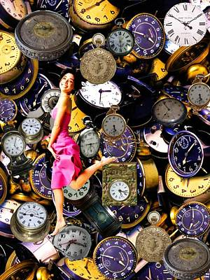 Running Out Of Time Art Print by Animi Dawn