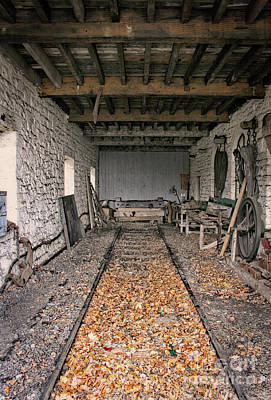 Photograph - Running Sheds For Steam Trains - Doc Braham - All Rights Reserved by Doc Braham