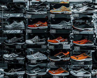 Photograph - Running Shoes by Hyuntae Kim