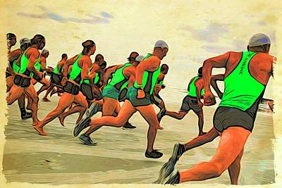 Photograph - Running Start by Alice Gipson