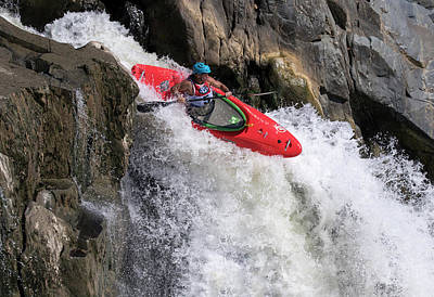 Photograph - Running The Rapids by Art Cole