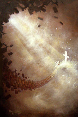 Sun Rays Painting - Running To Freedom by Ulysses Albert III