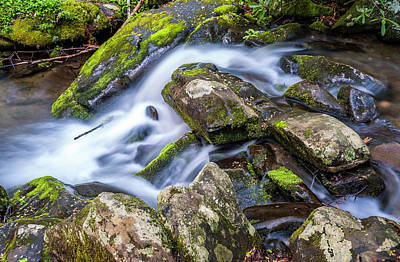 Photograph - Running Water by Cathie Crow