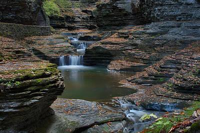 Photograph - Running Water by John Kiss
