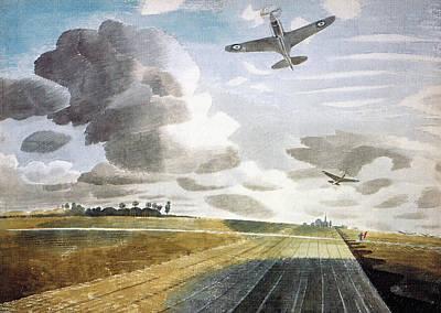 Runway Perspective Art Print