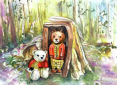 Milton Keynes Painting - Rupert And Rupert by Miki De Goodaboom