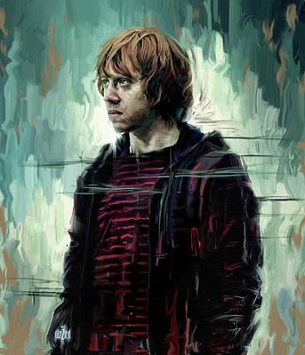 Rupert Grint As Ronald Weasley Original