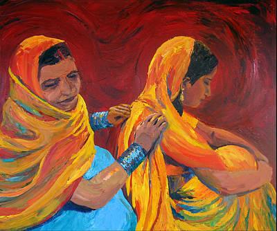 Painting - Ruppa by Art Nomad Sandra  Hansen