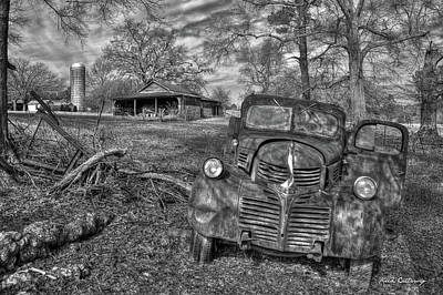 1947 Dodge Truck Photograph - Rural America 3 Boswell Farm 1947 Dodge Dump Truck by Reid Callaway