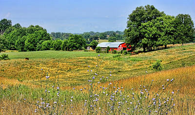 Photograph - Rural America Farmland by HH Photography of Florida