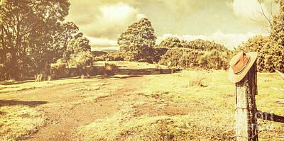 Semi Dry Photograph - Rural Australia Panorama by Jorgo Photography - Wall Art Gallery