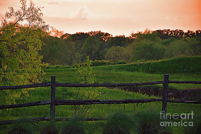 Photograph - Rural Central Texas - Sunset by Ray Shrewsberry