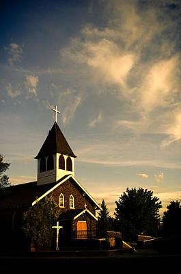 Photograph - Rural Church by Scott Sawyer