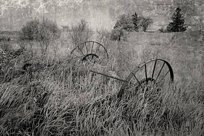 Photograph - Rural Decay by Jim Vance