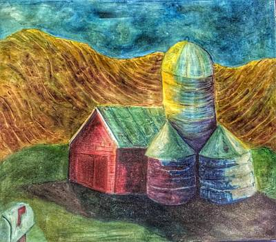 Painting - Rural Farm by Jame Hayes