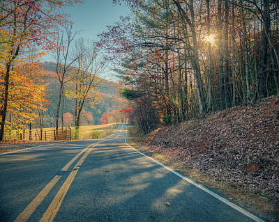 Photograph - Rural Highway by Ray Devlin