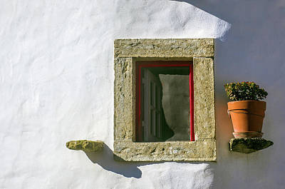 Photograph - Rural House Window by Carlos Caetano