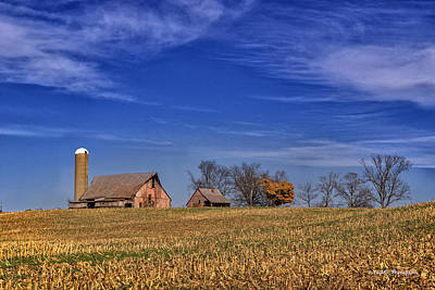 Photograph - Rural Indiana Farm by Wendell Thompson