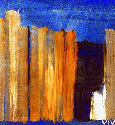 Rural Landscape 1.1 Art Print by VIVA Anderson