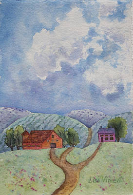 Painting - Rural Life by Lisa Vincent