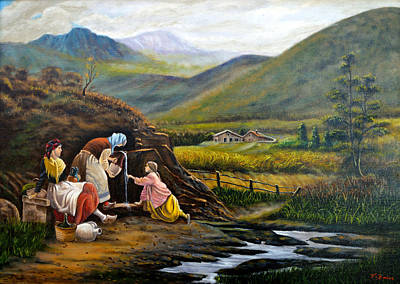 Painting - Rural Life by Tony Banos