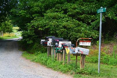 Photograph - Rural Mail Route by Kathryn Meyer
