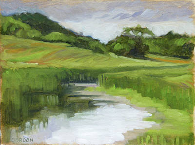 Painting - Rural Marsh by Kim Gordon