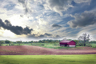 Photograph - Rural Maryland Farm In Spring by Patrick Wolf