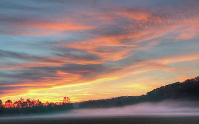 Photograph - Rural Missouri Sunrise by Harold Rau