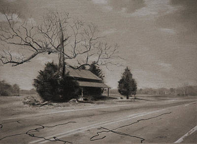 Painting - Rural Nc by Christopher Reid