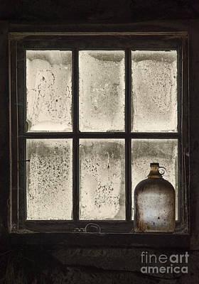 Beige Glass Photograph - Rural Perdurance... by Nina Stavlund