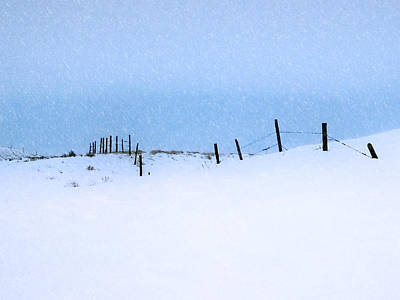 Photograph - Rural Prairie Winter Landscape by Blair Wainman