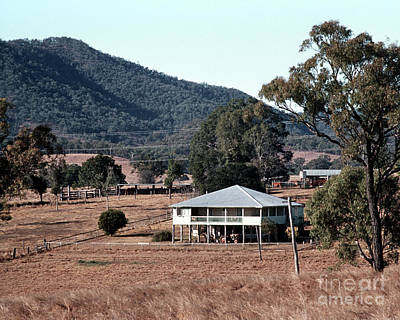 Photograph - Rural Queensland Farmhouse by Rick Piper Photography