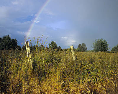 Photograph - Rural Rainbow by Robert Potts