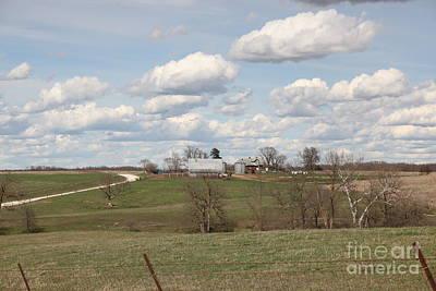 Photograph - Rural Randolph County by Anthony  Cornett