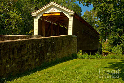 Photograph - Rural Rapps Bridge by Adam Jewell