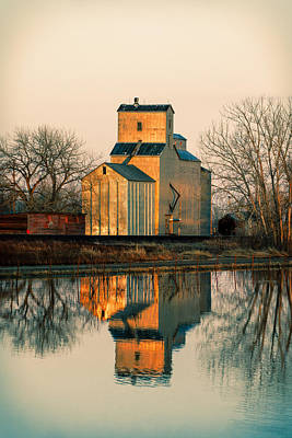 Rural Reflections Art Print by Todd Klassy
