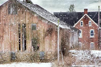 Photograph - Rural Relic by Stephanie Calhoun