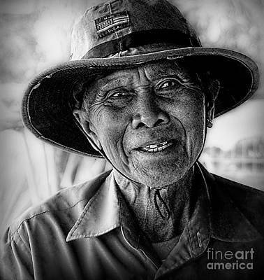Rural Rice Farmer Art Print