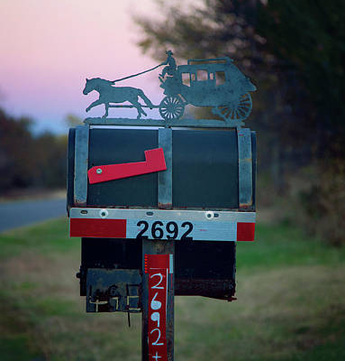 Photograph - Rural Route Delivery by Toni Hopper