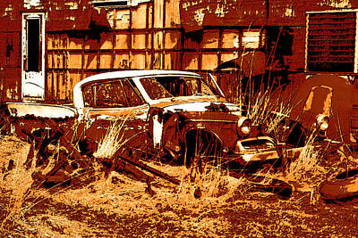 Photograph - Rural Rust by Kathleen Stephens