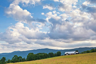 Photograph - Rural Summer Landscape by Alan L Graham